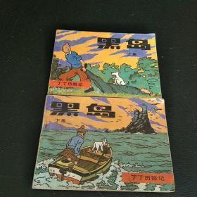 连环画:黑岛(丁丁历险记)