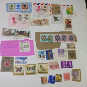 外国邮票一组37张合售