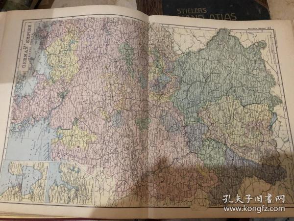 1895年德国地图
