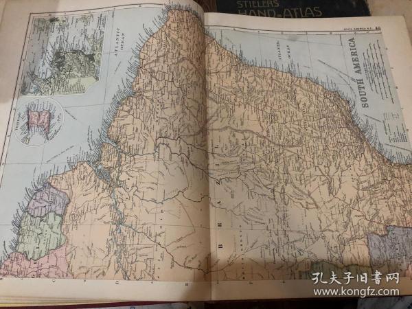 1895年南美洲地圖2