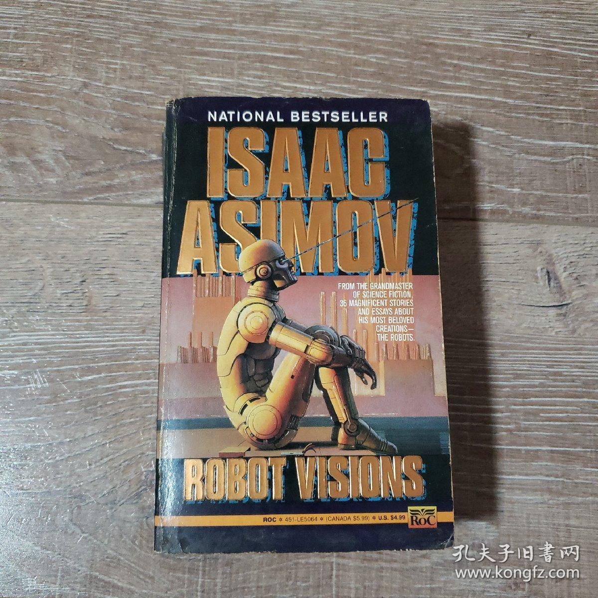 科幻英文小说robot visions 阿西莫夫