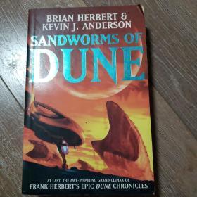 沙丘系列 科幻英文小说 sandworms of dune 16开