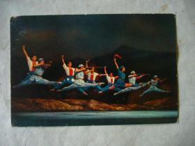 老明信片:芭蕾舞《红色娘子军》
