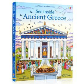 Usborne看里面翻翻书 古希腊 See Inside Ancient Greece 英文原版绘本 希腊诸神话科普启蒙 英语启蒙早教图画翻翻书 亲子共读