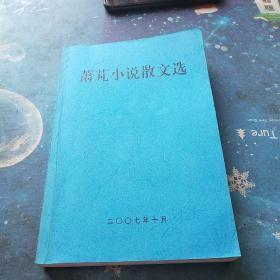 萧芃小说散文选