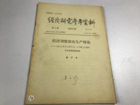 经济研究参考资料 1981 第2期