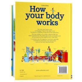 你的身体是怎么工作的 Usborne 英文原版绘本 How Your Body Works 儿童对身体的了解人类生物学科普 亲子轻松学英语图书