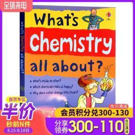 什么是化学 Usborne 英文原版 Whats Chemistry All About? 尤斯伯恩图书 英文绘本单词幼儿早教英语启蒙