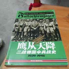 鹰从天降 二战德国伞兵战史 1939—1945