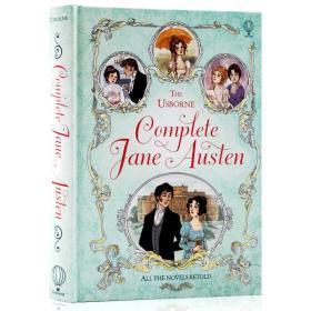 简·奥斯汀 儿童插图版全集 英文原版Complete Jane Austen Usborne全彩精装 课外兴趣阅读