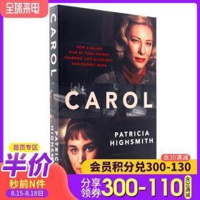 盐的代价 英文原版小说 Carol Film Tie-in 卡罗尔电影版小说 第81届纽约影评人协会奖 影片