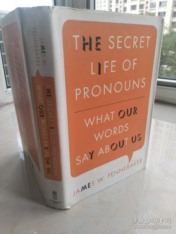 The Secret Life of Pronouns 【英文原版,精装本,品相佳】
