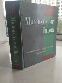 Microeconomic Theory   微观经济理论  1995年  英文原版  一版一印  16开精装厚册