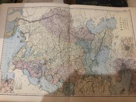 1895年俄國地圖