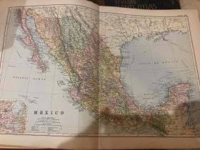 1895年墨西哥地圖
