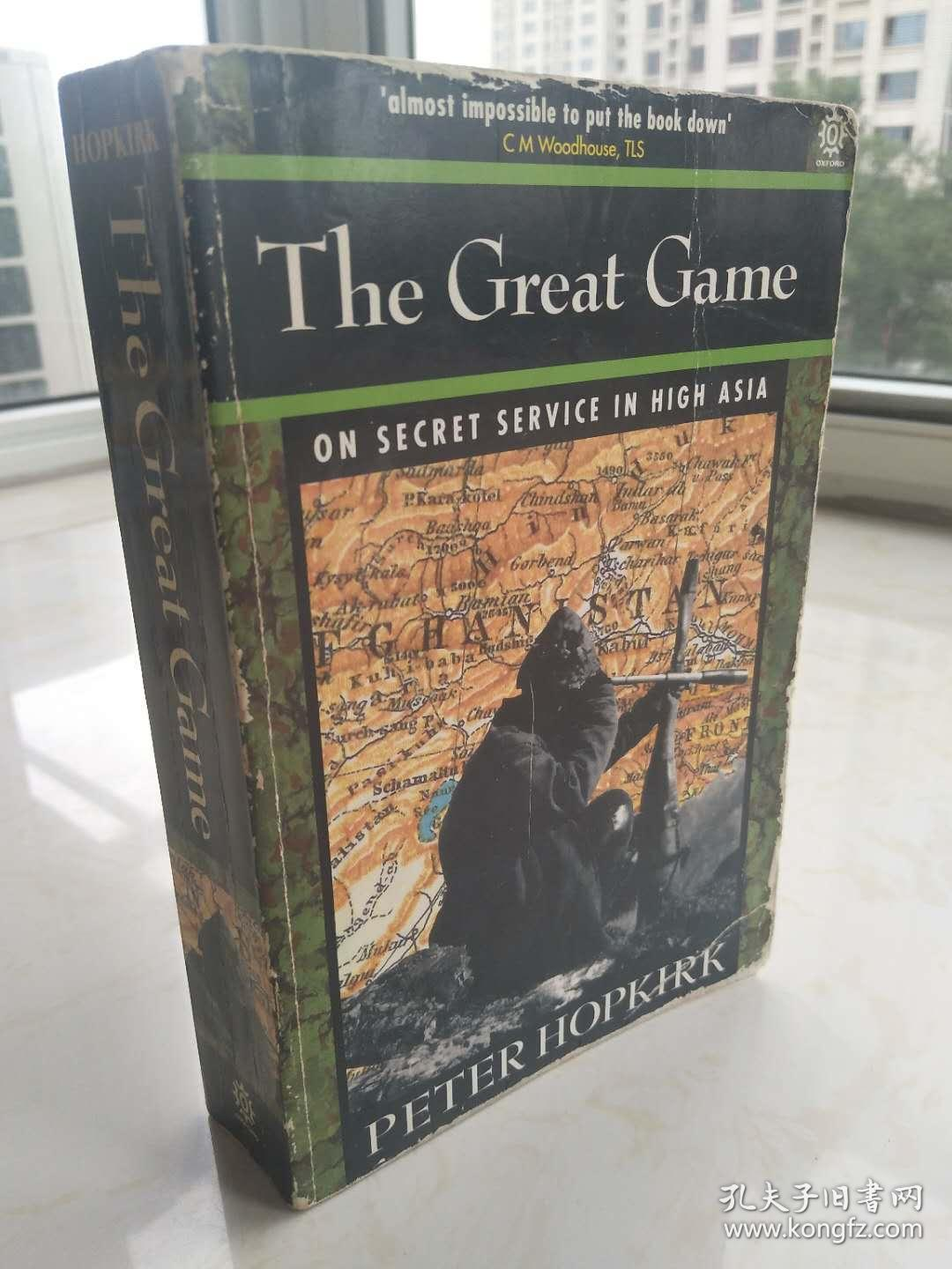 The Great Game:On Secret Service in High Asia  【英文原版,插图丰富,品相佳】