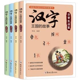 有故事的汉字 汉字王国的故事全4册 中国汉字听写大会 说文解字/咬文嚼字 语言文字解析书籍 古代汉语字典给孩子的汉字王国故事书