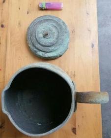 民国或解放后:铜壶