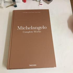 米开朗基罗全集原版画册 Michelangelo: Complete Works)精装