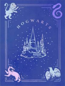 预售哈利波特霍格沃茨美国原版子弹笔记本 Harry Potter Dot Bullet
