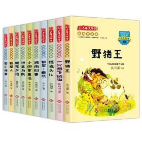 百年文学梦全10册中国儿童文学沈石溪动物小说野猪王小学生阅读书籍冰心寄小读者二年级儿童课外书 陈伯吹一只想飞的猫6-8-9-12岁