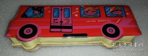 巴士乐园塑料胶皮盒