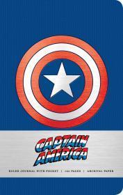预售美国队长美国原版笔记本Marvel: Captain America