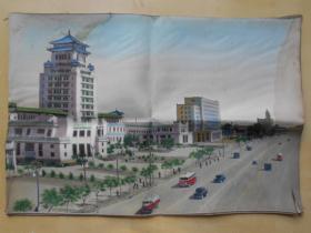 老织锦【北京民族文化宫】中国杭州织锦厂制