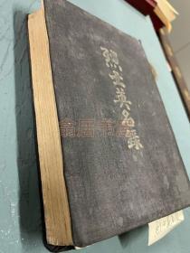 【红色收藏】毛泽东、朱德等题词,1946年冀南解放区《烈士英名录》,600余页