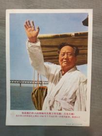宣传画:敬祝我们伟大的领袖毛主席万寿无疆( 上海人民美术出版社)