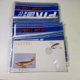 1994-3《鲟特种邮票》极限封 一套4枚