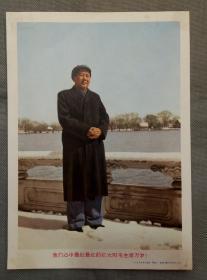 宣传画:我们心中最红最红的红太阳毛主席万岁(人民美术出版社)