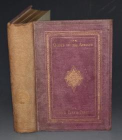 1869年W.H. DAVENPORT ADAMS- Venice Past & Present《威尼斯今昔图记》精装全插图本古董书
