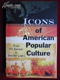 Icons of American Popular Culture: From P.T. Barnum to Jennifer Lopez(英语原版 平装本)美国流行文化偶像:从P.T.巴纳姆到詹妮弗·洛佩兹