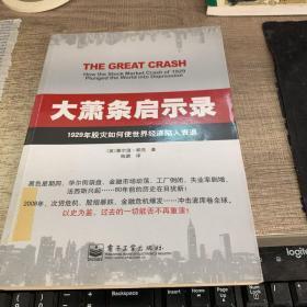 大萧条启示录:1929年股灾如何使世界经济陷入衰退