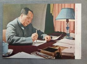 文革宣传画:中国人民的伟大领袖毛泽东主席   (上海人民美术出版社)