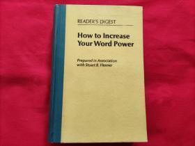 如何提高运用词汇的能力(英文)