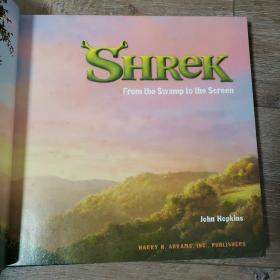 SHREK: from the Swamp to the Screen 精装本史瑞克 史莱克 电影图册
