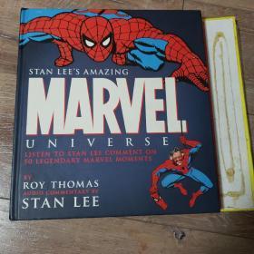Stan lee's amazing marvel universe漫威漫画 惊奇杂志 漫画 电影资料 漫画图册 蜘蛛侠 超人 绿巨人