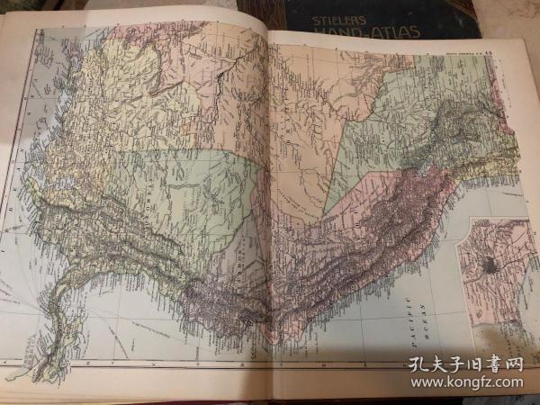 1895年南美洲地圖1