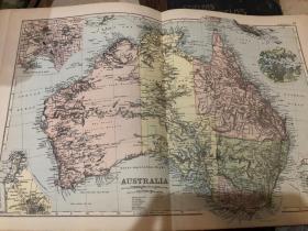 1895年澳大利亞地圖