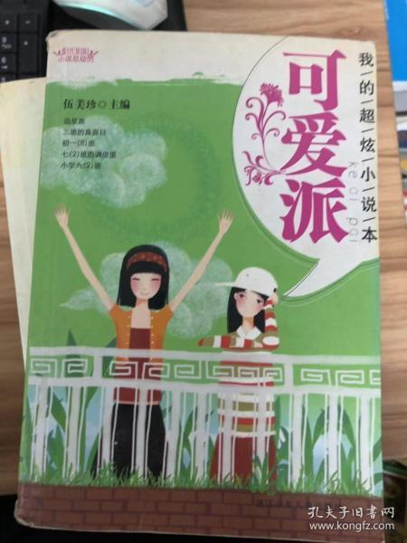 阳光姐姐小说总动员:我的超炫小说本 可爱派