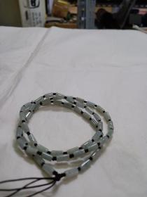 翡翠项链(桶珠)