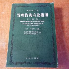 管理咨询专业指南:第三(修订)版