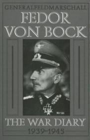 Generalfeldmarschall Fedor Von Bock