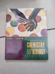 an introduction to chemistry for biology students【fifth edition】【16开未开封】