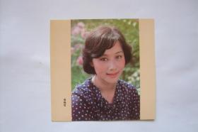 贺年卡   电影演员    黄梅莹