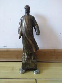 毛泽东去安源铜像     保全铜制作不保制作年代