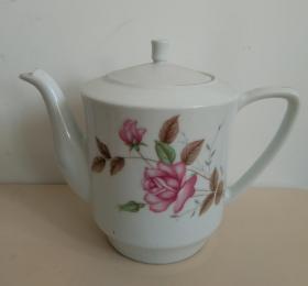 岁月浸染之美◆民俗精美图案瓷茶壶之一