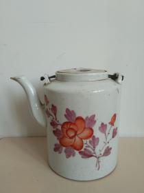 岁月浸染之美◆民俗精美图案瓷茶壶之三